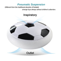 LED Hover Ball Suspend Football Gift Indoor Soccer Soft Foam Floating Ball Int