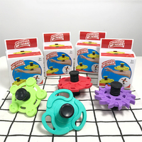 Spinnobi Spring Spinner Combined with Beyblade Spinning Tricks Perfect Kids Gift