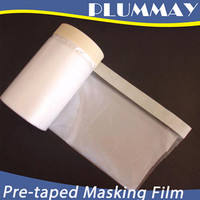 pre-taped masking film PE protection film used in paint industries