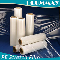 stablized clear PE stretch shrink film roll for wrapping pack