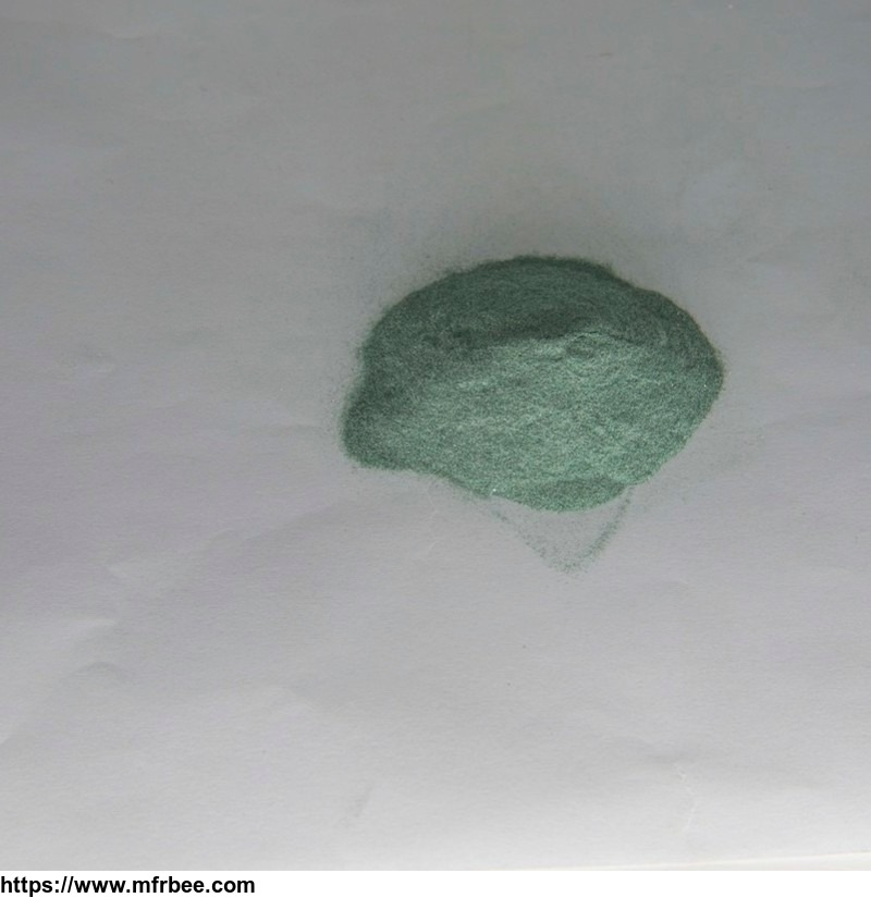 Green silicon carbide for grinding wheels refractory ceramics