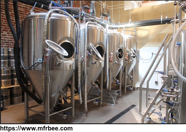 800L stainless steel fermentation tank for beer making plant