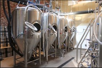 more images of 800L stainless steel fermentation tank for beer making plant