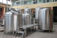 more images of 2500L customized brewhouse for commercial brewery saccharifying tanks