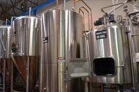 30BBL turnkey brewery mash tun set for industrial beer plant