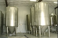 3500L industrial beer kettle fermenting system for big brewery capacity