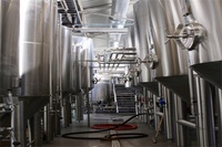 4000L beer fermentation tanks supplier for industrial beer making