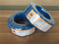 European Standard pvc insulation wire resistance to fire electrical cable cloth wire