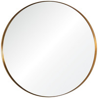 Round stainless steel devorative wall mirror for livingroom/bathroom/dining room
