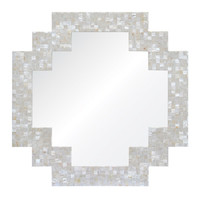 Totem mather of pearl devorative wall mirror for livingroom/bathroom/dining room