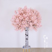 High quality artificial sakura trees/cherry tree Japanese style different color use for indoor/wedding decoration