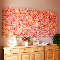 High quality handmade artificial flower wall for wedding event decoration