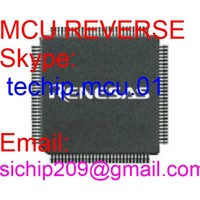 more images of STM32F071V8 chip decryption