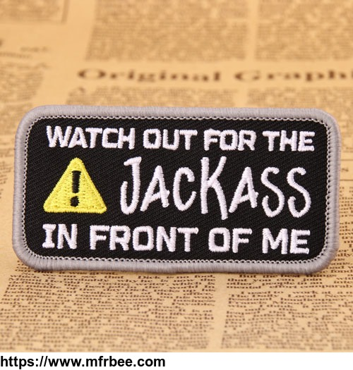 Jackass Custom Made Patches