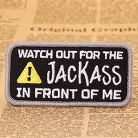 more images of Jackass Custom Made Patches
