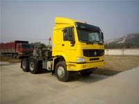 High quality HOWO 6X4 Tractor Designed for Mongolia