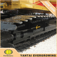 Track Shoes for Hitachi 50 Ton PD7 Pile Driver Undercarriage Parts
