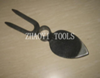 30020109 high quality peach type drop-forging digging weeding garden fork hoe