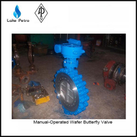 "4 "" wafter butterfly valve suited for heating ventilation"