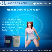 Liquid life casting silicone rubber for adult women sex toys making