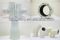 FRP/GRP/ DRE fittings, Fibreglass reinforced plastic