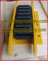 more images of Steel chain roller skids for loads up to more than 2000 tons