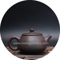 Teapot Nixing Pottery Teapot Hand Painting Tea Ware Money Comes Everyday Tea Set