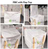 PP FIBC Bulk Bag 95x95x120cm with flap top