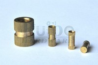 High precision brass Knurl nut