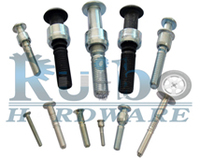 Steel avdel lock bolts