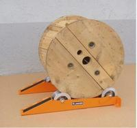 Cable Laying Drum Roller Fiber Optic Used for power cables