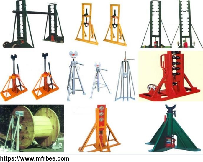 hydraulic_cable_drum_jack_cable_drum_trestles_hydraulic_lifting_jacks