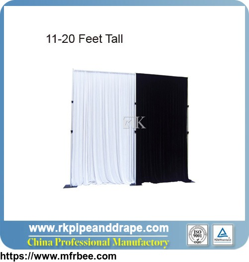 11-20 Feet Tall Pipe And Drape kits