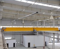 Cheap Single Girder Overhead Bridge Crane with electric hoist