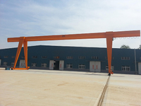 Material Lifting Hoist Single Girder Gantry Crane Design