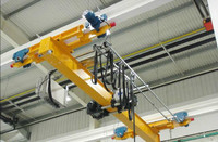 Light Duty Workshop Warehouse Hanging Overhead Bridge Crane Price