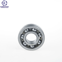 SUN BEARING Deep Groove Ball Bearing 608 Silver 8*22*7mm Chrome Steel