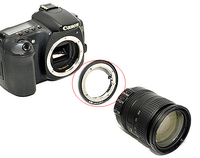Lens Mount Adapter for Nikon F Mount lens on Canon EOS camera body
