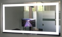 Smart Mirror with Illuminated LED light around