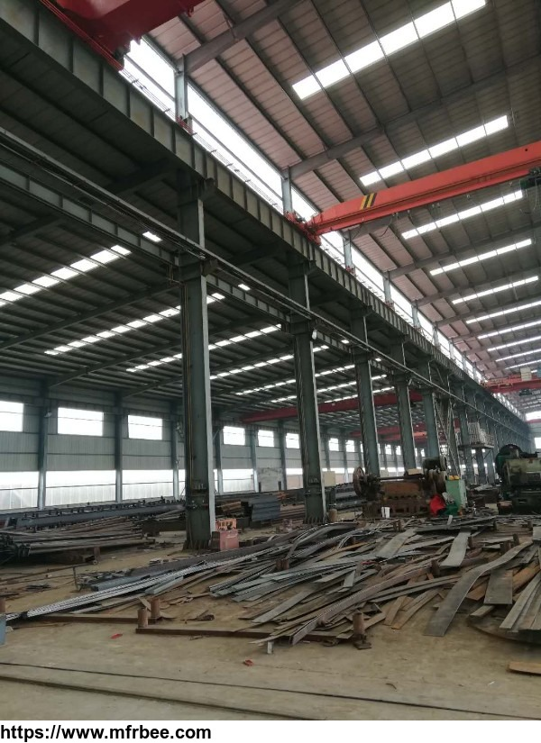 Prefab light steel structure frame warehouse buildings manufacturer