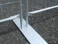more images of Temporary Fence Feet