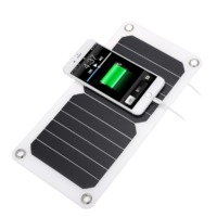 7W 6V Portable Flexible Solar Charger with USB port for Electrical Devices