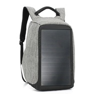 more images of New Fashion 7W 5V Backpack Rucksacks with solar charger
