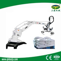 Robot Fertilizer Palletizing System