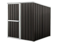 Pent Roof Metal Garden Shed