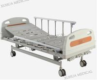 """CE Approved Three Functions Manual Hospital Nursing Bed with Three Cranks  Model: XHS30D"""