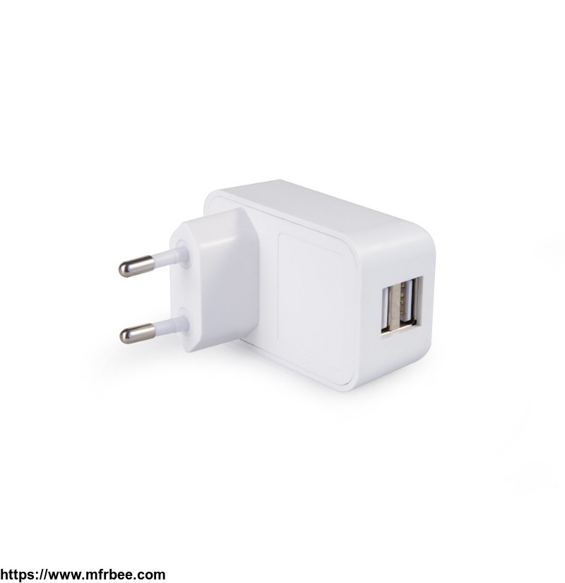 white_cheap_high_quality_mini_2_port_usb_charger