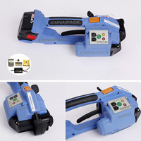 Xn-200 battery power strapping tool for plastic