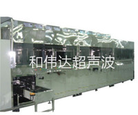LCD / TFT liquid crystal glass automatic ultrasonic cleaning machine dryer