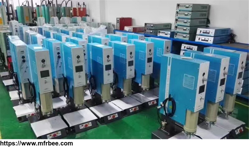 China manufacturer Ultrasonic plastic welding equipment